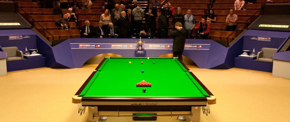 2015 World Snooker Championship - First Round Draw