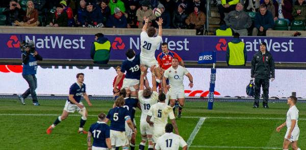 Six Nations Rugby - England v France Players