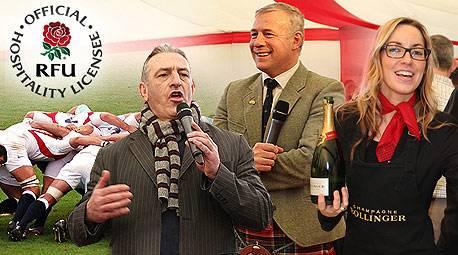 England Rugby Hospitality - Six Nations - England v Scotland