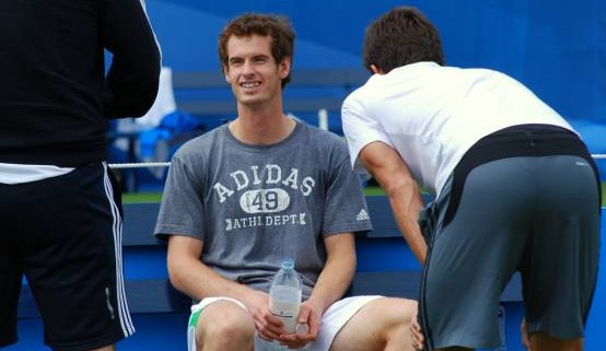 andy murray rest tennis break
