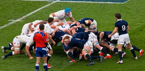 Six Nations - England v Scotland Players
