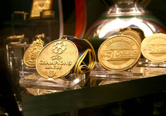 champions league medals