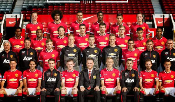 manchester united manu team squad 2015
