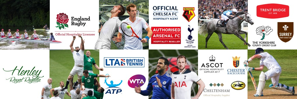 Corporate hospitality for major sporting events