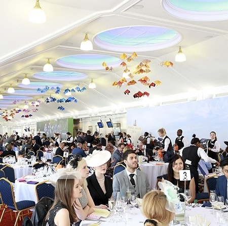 Royal Ascot Guests at their tables