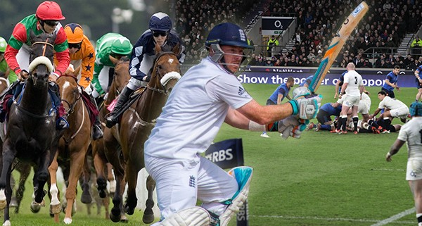 Royal Ascot - Ian Bell - England Rugby
