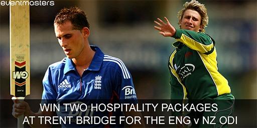 Trent Bridge - England New Zealand Prize