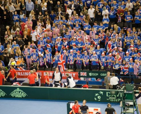 Davis Cup Tickets & Hospitality - British Tennis Fans