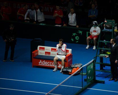 Davis Cup Tickets & Hospitality - Andy Murray Prepares