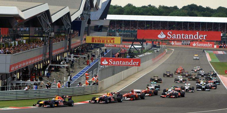 Silverstone Formula 1 Grandstand