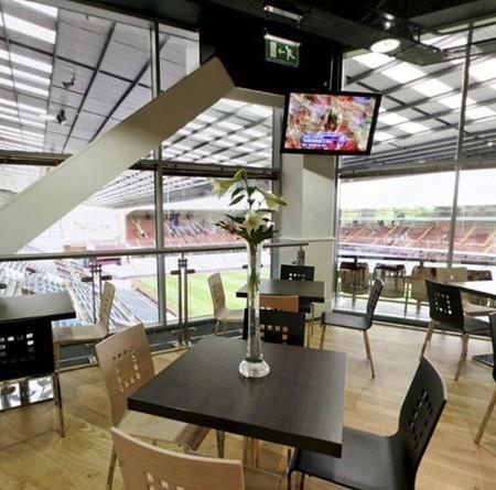 Aston Villa Sky Lounge hospitality