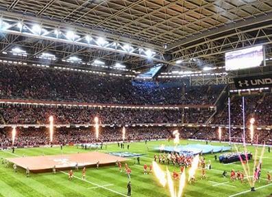 Millennium Stadium Hospitality Wales v Scotland, Wales v Italy, Wales v France