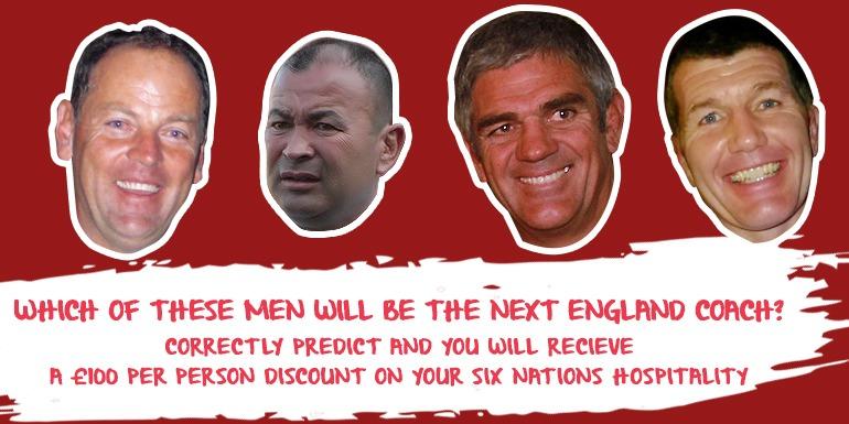 england potential head coaches