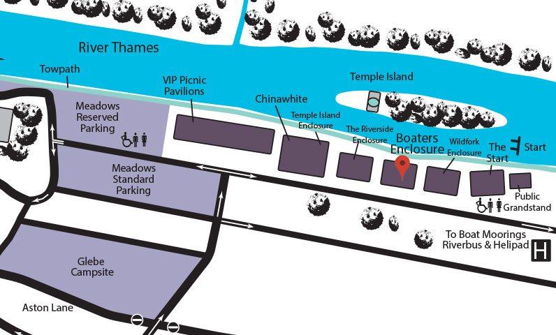 Henley Regatta Map
