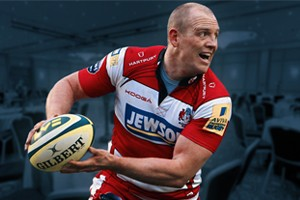 Rugby Legend Mike Tindall