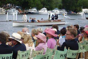 guests at henley regatta hospitality enclosure 2019