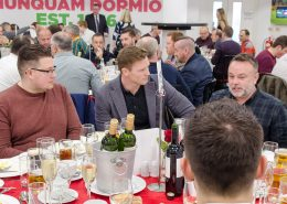 Chris Ashton with Premium VIP guests - Twickenham Hospitality Packages