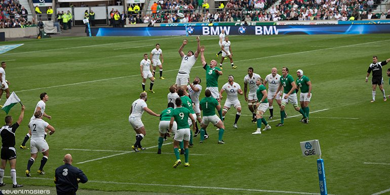 Six Nations england ireland rugby match