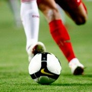 Players Kick Football