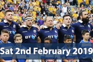 Six Nations Hospitality - Scotland v Italy - BT Murrayfield