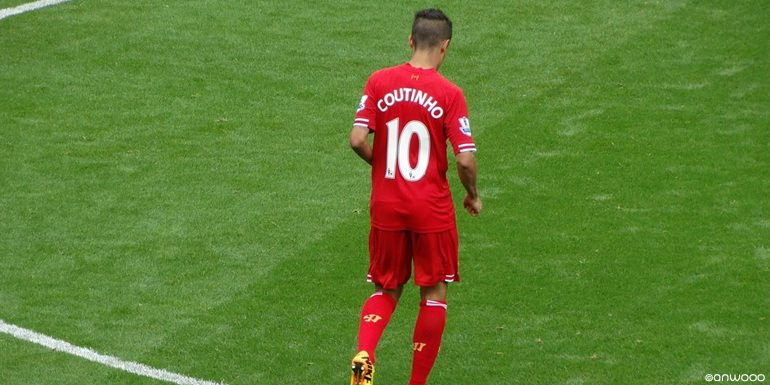 Philippe Coutinho for Liverpool FC