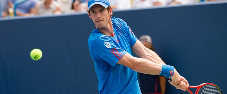 Wimbledon, Andy Murray Playing