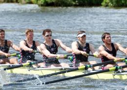 Rowing team at Henley Royal Regatta