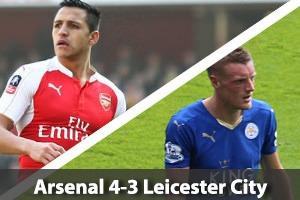 Arsenal Hospitality - Arsenal v Leicester - Emirates Stadium