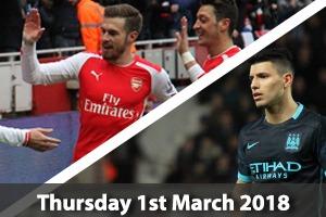 Arsenal Hospitality - Arsenal v Man City - Emirates Stadium