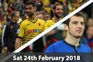 Watford Hospitality - Vicarage Road - Watford v Everton