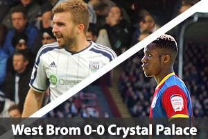 West Bromwich Albion Hospitality - West Brom v Crystal Palace - The Hawthorns
