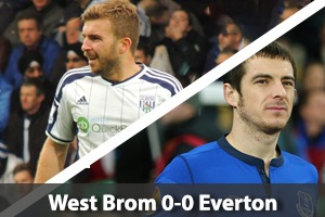 West Bromwich Albion Hospitality - West Brom v Everton - The Hawthorns