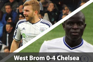 West Bromwich Albion Hospitality - West Brom v Chelsea - The Hawthorns