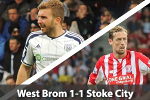 West Bromwich Albion Hospitality - West Brom v Stoke City - The Hawthorns
