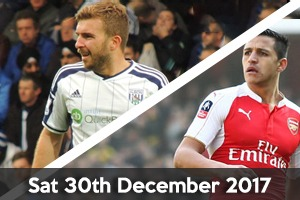 West Bromwich Albion Hospitality - West Brom v Arsenal - The Hawthorns