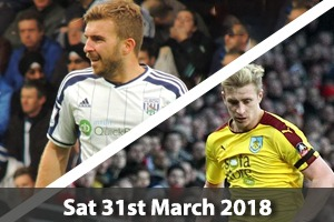 West Bromwich Albion Hospitality - West Brom v Burnley - The Hawthorns