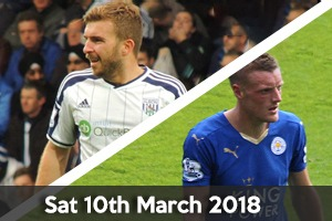West Bromwich Albion Hospitality - West Brom v Leicester - The Hawthorns