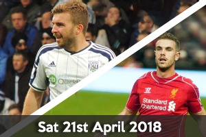 West Bromwich Albion Hospitality - West Brom v Liverpool - The Hawthorns