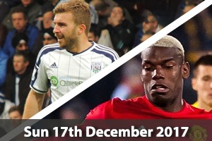 West Bromwich Albion Hospitality - West Brom v Man United - The Hawthorns