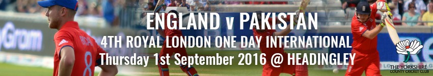 England v Pakistan - Headingley Hospitality - Cricket Hospitality