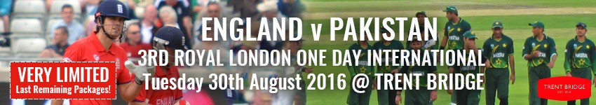 England v Pakistan - Trent Bridge Hospitality - Cricket Hospitality