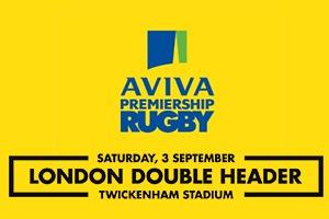 London Double Header - Hospitality Packages - Aviva Premiership - Twickenham