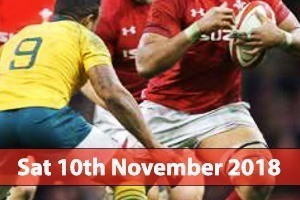 Principality Stadium Hospitality - Wales v Australia