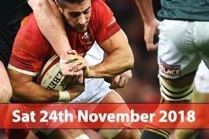 Principality Stadium Hospitality - Wales v South Africa
