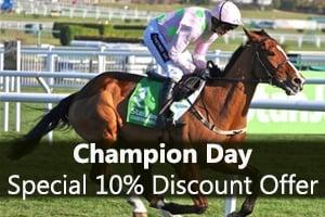 Cheltenham Festival - Champion Day racing
