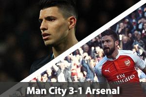Manchester City Hospitality - Man City v Arsenal - Etihad Stadium