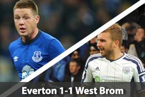 Everton Hospitality - Everton v West Brom - Goodison Park