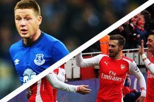 Everton Hospitality - Everton v Arsenal - Goodison Park