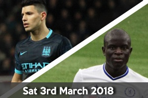 Manchester City Hospitality - Man City v Chelsea - Etihad Stadium