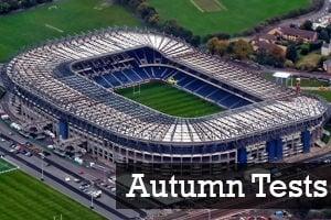 Autumn Tests - BT Murrayfield Corporate Hospitality